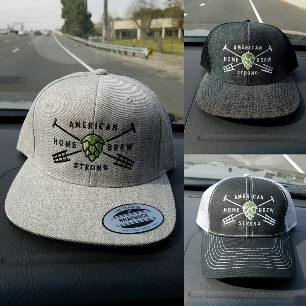 Embroidered Snapback Caps