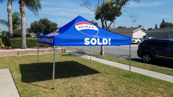 Real Estate Pop Up Canopy